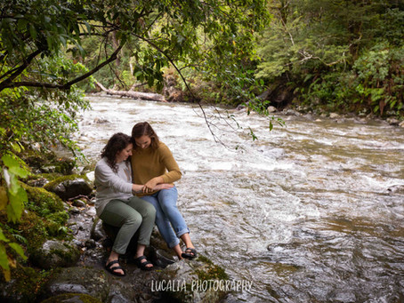 Mt Holdsworth Wairarapa Engagement Photos: Eliza and Catlin