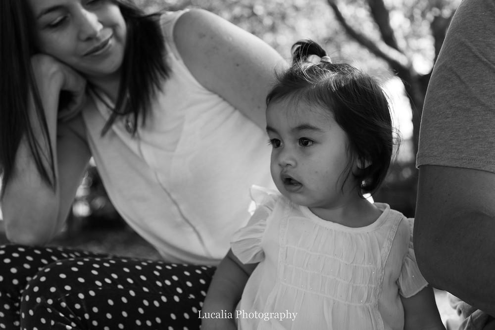 mother looking at her daugher, Carterton, Wairarapa family photographer