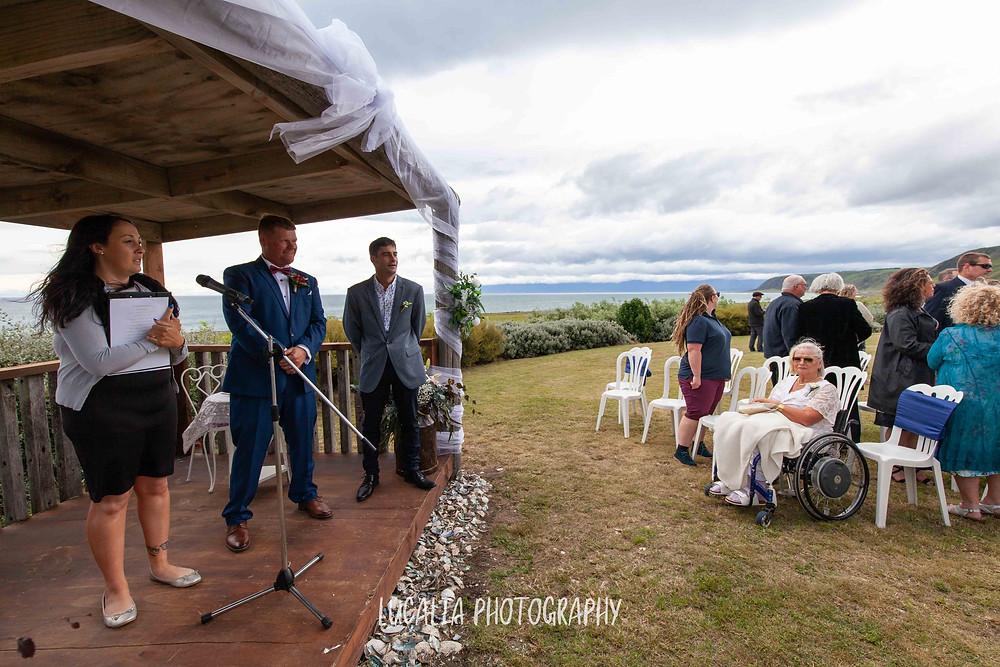 Emma Ayling Wairarapa wedding celebrant, , Waimeha Camping Village, Ngawi, Wairarapa wedding