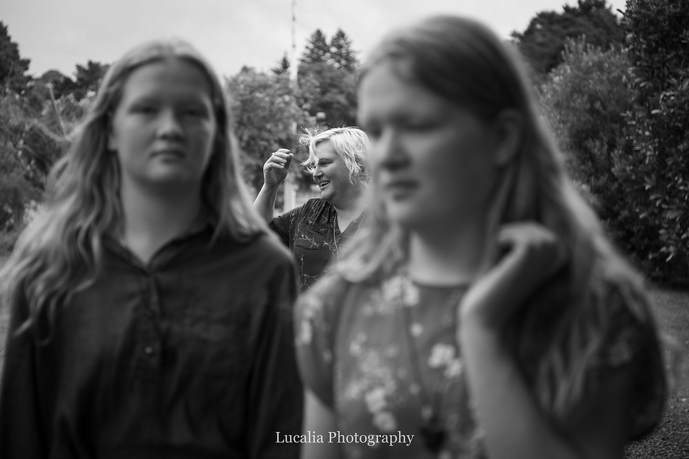 daughters and mum, Wairarapa family photographer