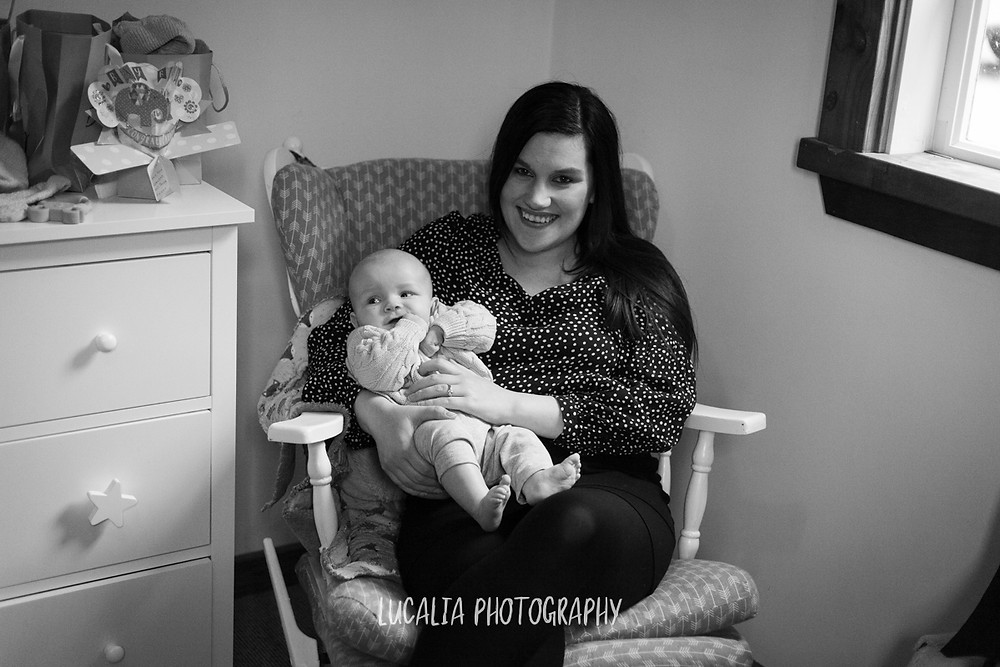 mum holding baby son in rocking chair, Mount Holdsworth, Wairarapa family photographer