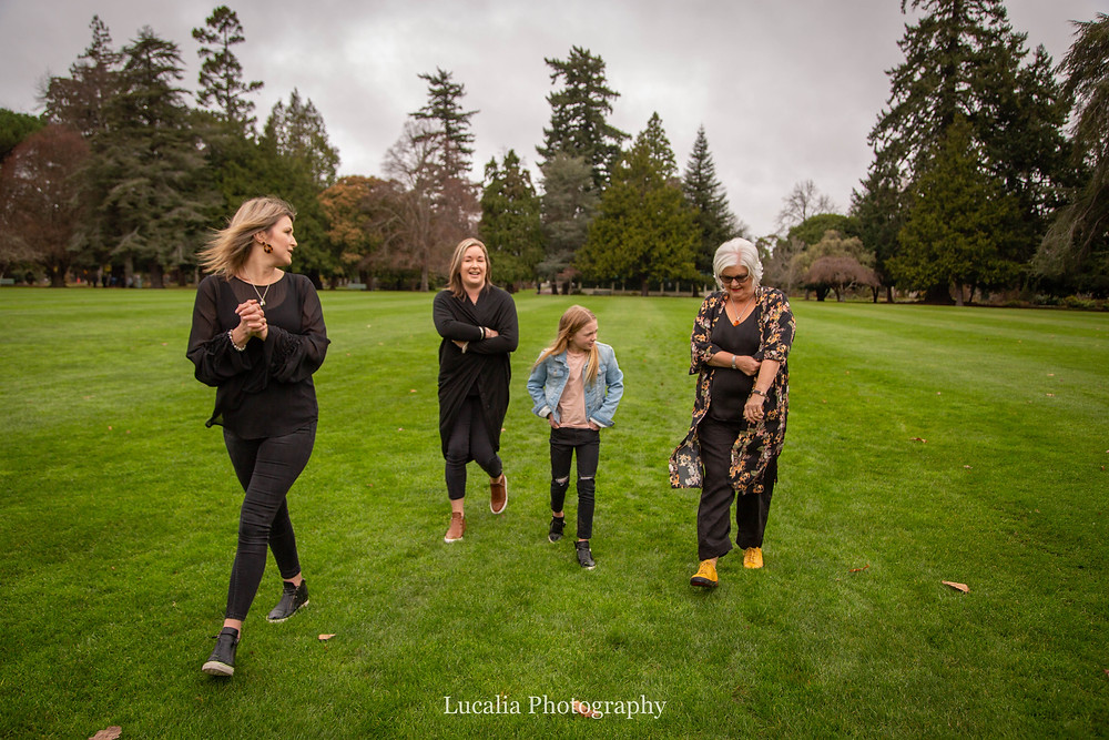 all the ladies, Wairarapa family photographer