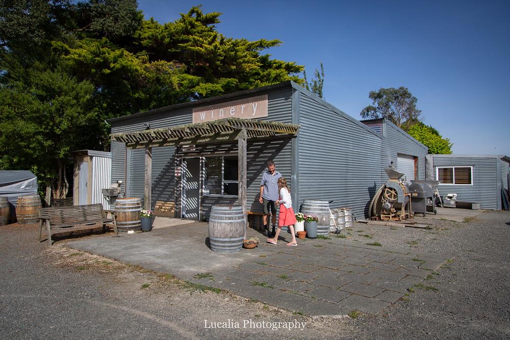 Le Gra winery family friendly celler door, Wairarapa family photographer