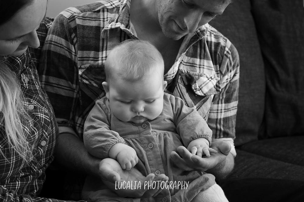mum, dad and daughter, Wairarapa family photographer