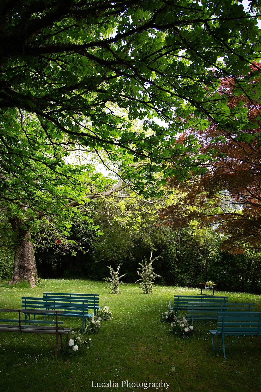 garden wedding ceremony location at Rose & Smith at Tauherenikau Wairarapa wedding venue