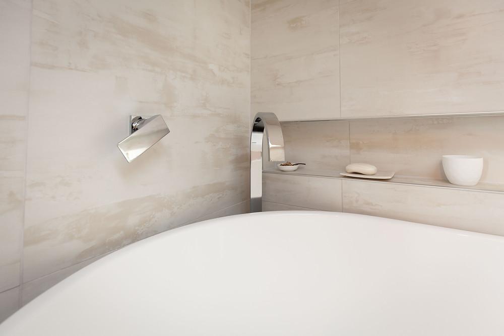 luxury bath ensuite, wedding accommodation Olivio~nor, Martinborough Wairarapa