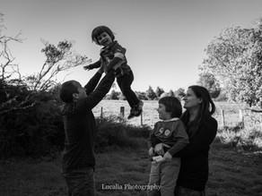 Wairarapa family photographer: playing outdoors