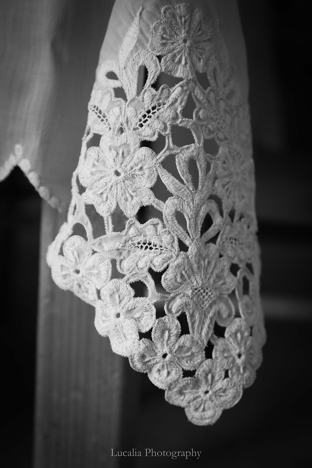 Lucalia Photography Top 30 Australasian Top Emerging Photographer 2018 lace flowers fabric tablecloth