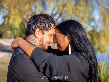 Henley Lake Engagement Photos: the aroha of Shari and Mikey
