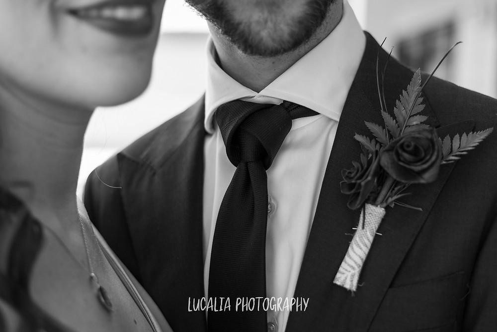 the cape knot tie groom, Castlepoint Wairarapa wedding, Lucalia Photography