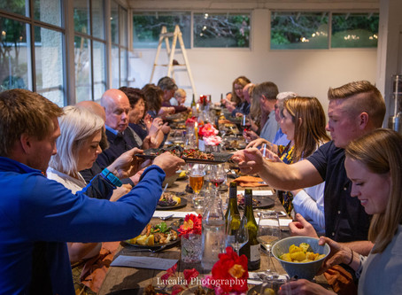 Winter Wairarapa wedding venue Rose & Smith at Tauherenikau: food wine and country hospitality