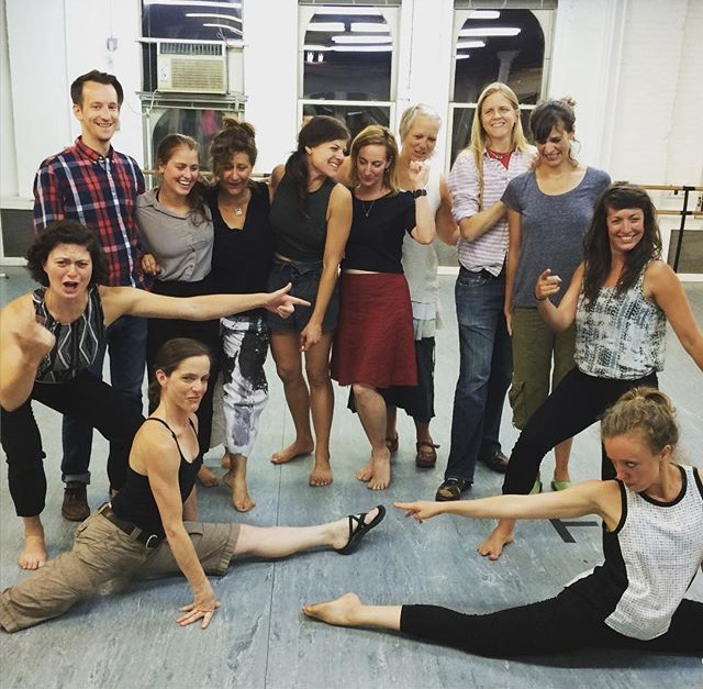 July 2015 with The Architects   architectsdance.org