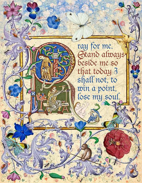 Prayer To Saint Thomas More in English ©2020-2021