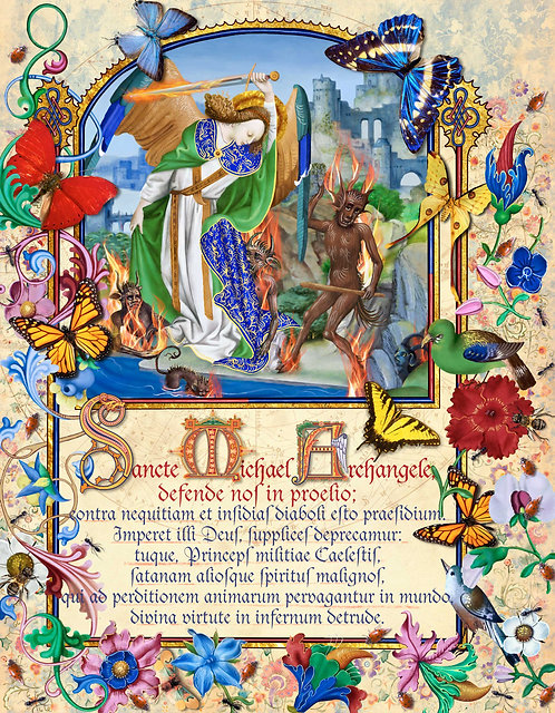 Prayer to Saint Michael the Archangel in Latin ©2017