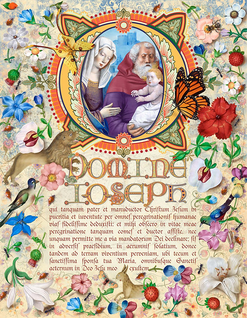 Prayer To St. Joseph in Latin ©2018