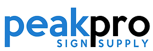 peakpro sign supply