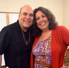 Linda Van Haver with Dr. Joe Vitale