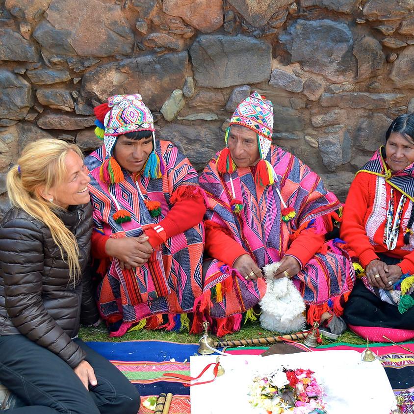 Shamansk utbildning genom Inkas Medicinhjul steg 1/4