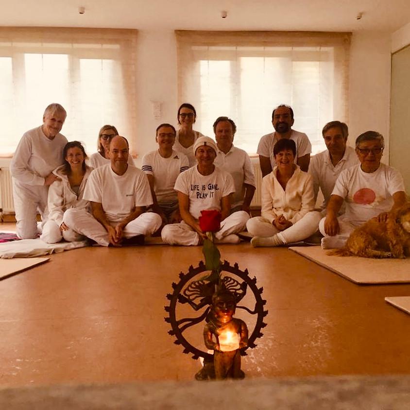 Yoga och holotropisk andning med Christananda