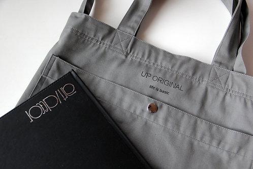 two-way tote bag Grey