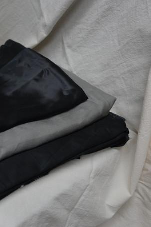 Matirial 材質的浪漫 | 絲、麻、棉
