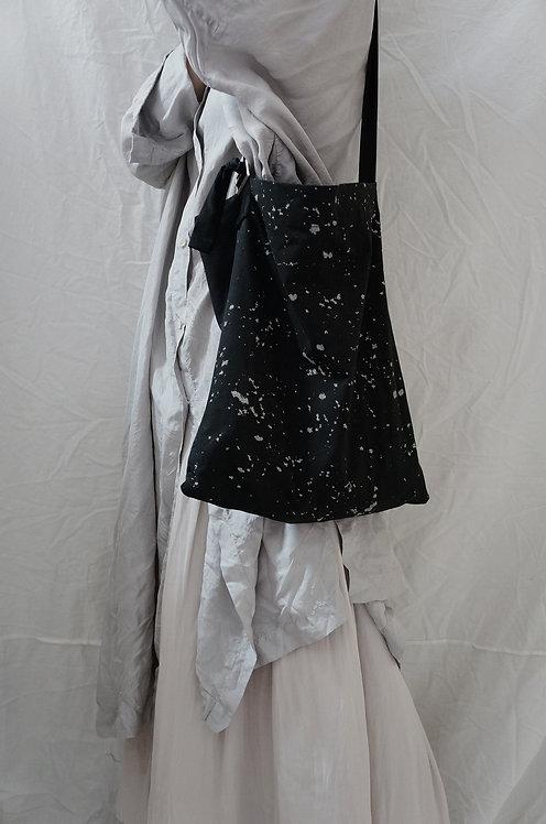 #308 tote bag -milky way&black