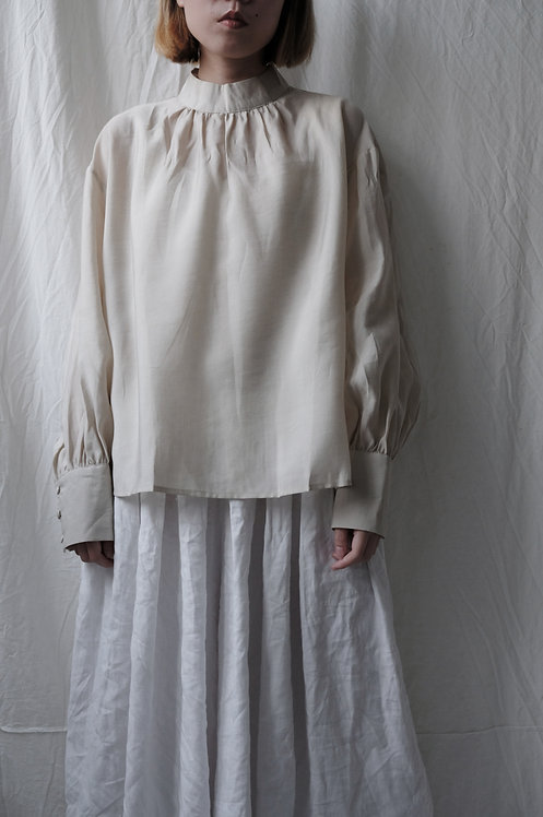 stand collar shirt Off White