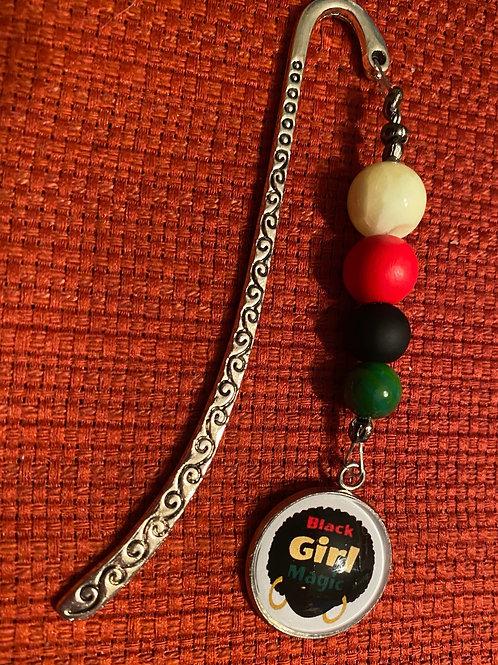 Black Girl Magic Hook Bookmark