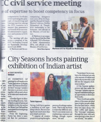 Solo Show - Tribune Mirror