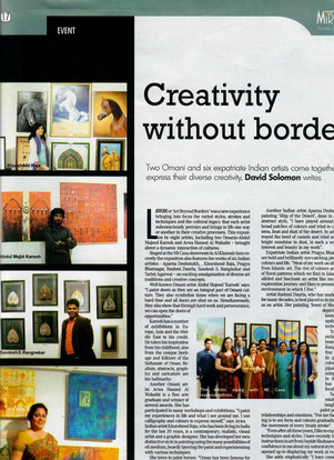 Latitude Group Show - Tribune Mirror