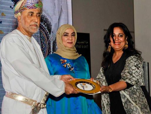 Tarini Agarwal Honoured by Sultanate of Oman