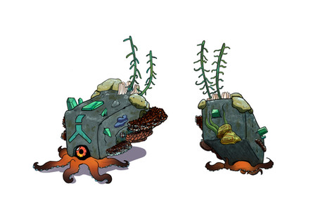 Octopus + Golem concept