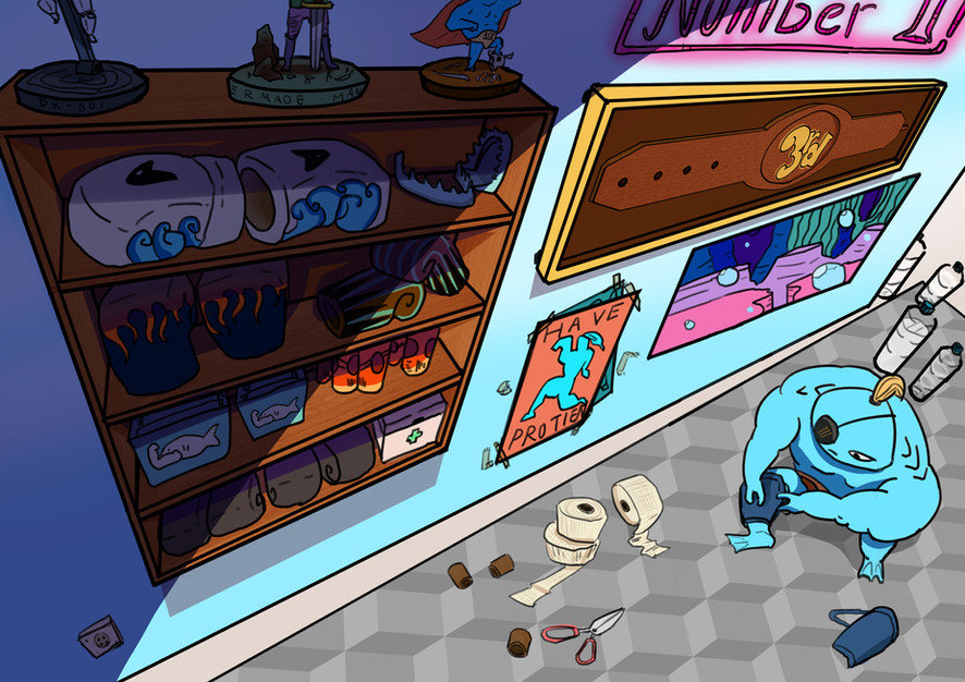 Room Environment Colored