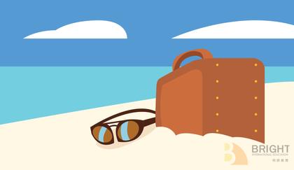 Brighter Illustration Beach