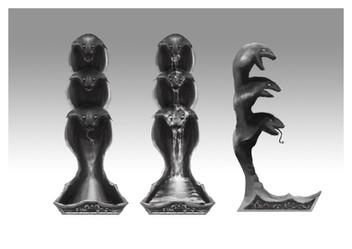 Snake Fountain Concept 1