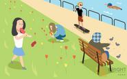 Brighter Illustration Park Do Nots