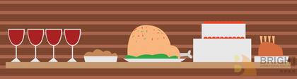 Brighter Illustration Dinner