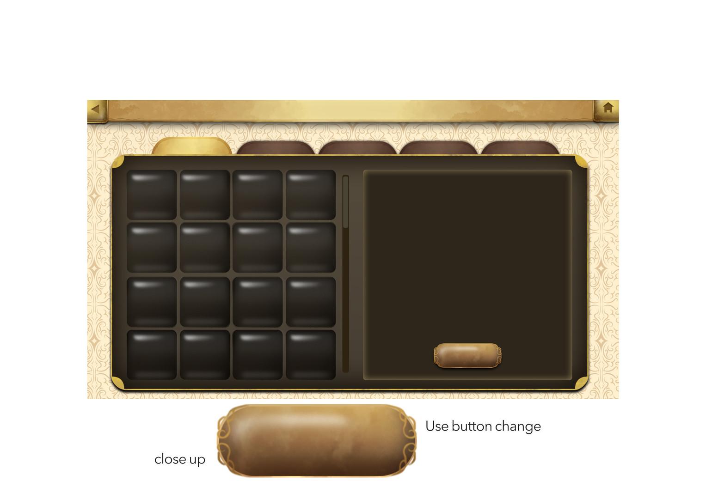 DevilStone UI Menu & Button Design
