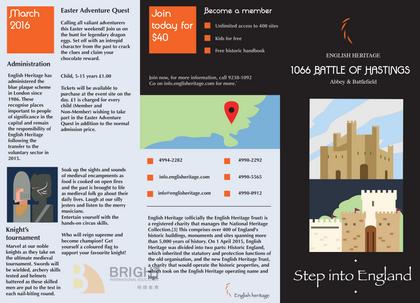 Brighter Illustration Leaflet