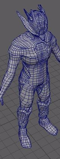 zBrush to Maya model