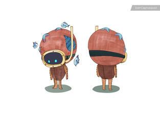 Octopus + Doll concept