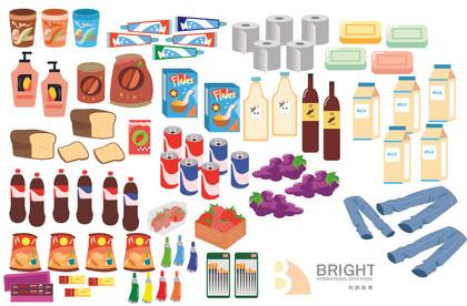 Brighter Illustration Assets