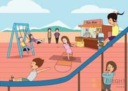 Brighter Illustration Park