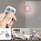 Thumbnail: Mobiler Einbruchs- und Schranksicherungsalarm mit Gong-Funktion