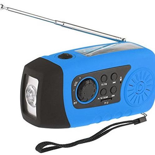 Kurbelradio mit Licht und Ladegerät