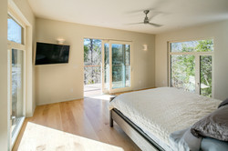 Haw River House Master Bedroom