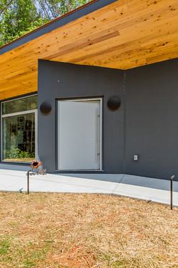 Angled Front Entry