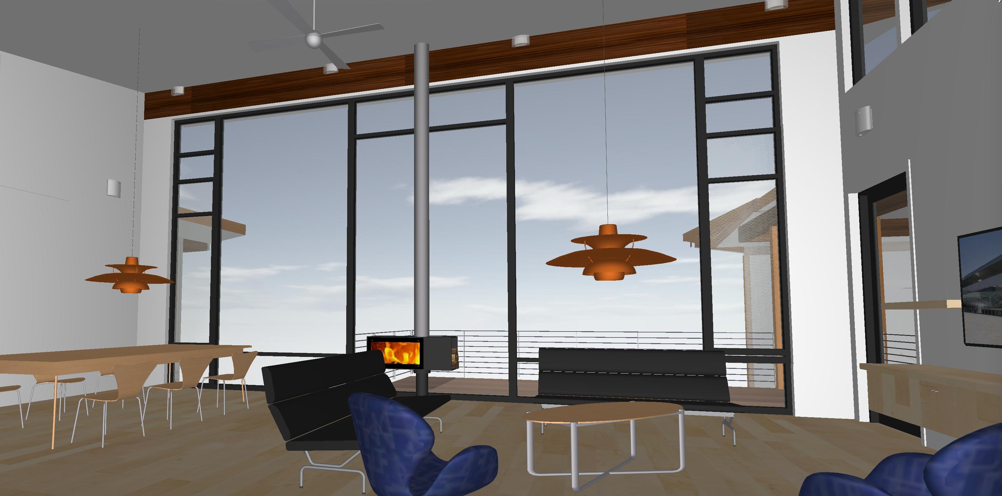 Lerner-Campbell Residence Interior