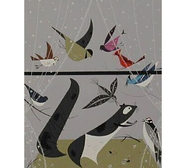 Charley Harper's Abstracted Nature Art