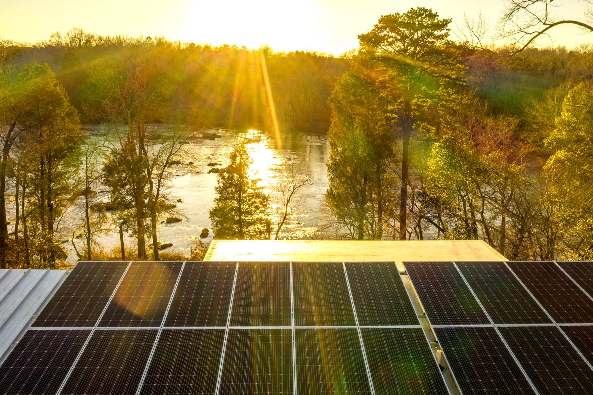 Haw River House PV Array